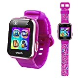 VTech KidiZoom Smartwatch DX2, Special Edition Floral Birds with Bonus Vivid Violet Wristband