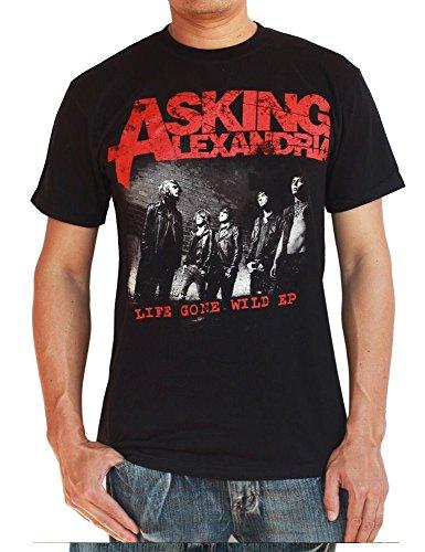 Life Gone Wild EP - Asking Alexandria T-Shirt Medium Black