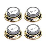 uxcell 3W 4 Ohm DIY Speaker 50mm Round-Shape Replacement Loudspeaker 4pcs
