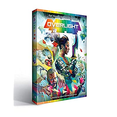 Renegade Game Studios RGS0813 Overlight A Fantasy of Kaleidoscopic Journeys, RPG: Toys & Games