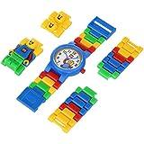 Lego - Reloj para niño de plástico Resistente al agua blanco