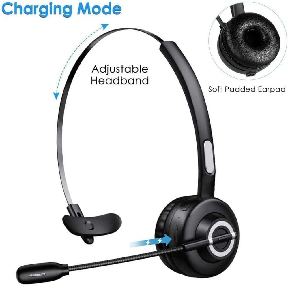 Cuffie Bluetooth 5.0 Wireless con Microfono,Zeonetak Senza