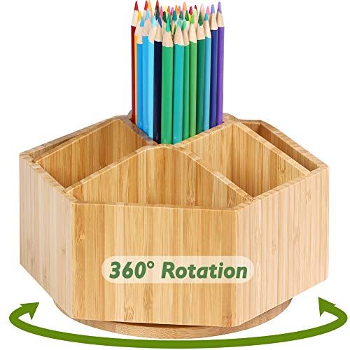 Bamboo Rotating Art Supply