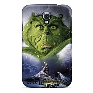 High Quality Phone Cover For Samsung Galaxy S4 With Custom HD The Grinch Pattern SherriFakhry
