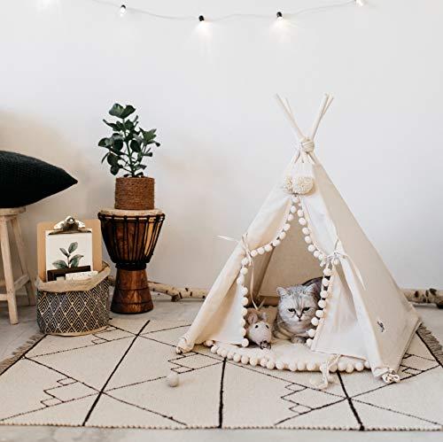 Camas de lujo para perros y gatos, camas para mascotas, pequeñas y medianas camas para perros, Reino Unido, tienda de campaña para mascotas, ...