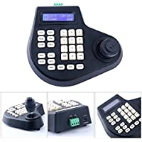 2/3/4 Axis Dimension CCTV Joystick Keyboard ptz Controller LCD Display for PTZ Speed Dome Camera Control (4 Axis)