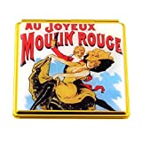 Souvenirs of France - Paris 'Joyous Moulin Rouge' Mirror