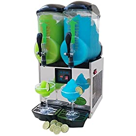 Brand : BRAVO ITALIA 2 bowls slushie machine 3.2 gallons each bowl , 100 CUPS ,COMMERCIAL GRADE MACH