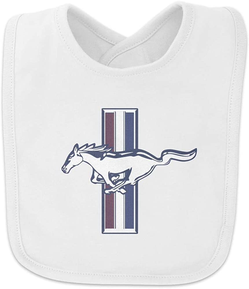 Ford Mustang Logo Baby Bib