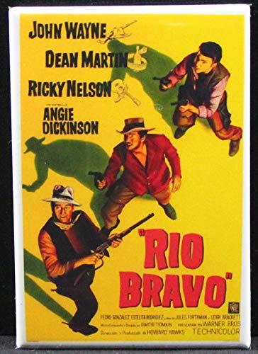 Rio Bravo Movie Poster Refrigerator Magnet.