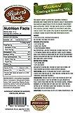 chicken breading mix - Baker's Rack Gluten Free Seasoned Breading Mix, 12 Ounce