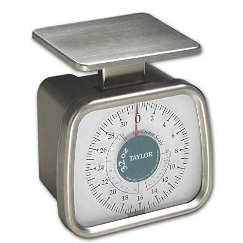 Taylor Precision TP32 Mechanical 2 lb Dial Ice Cream Portion Scale