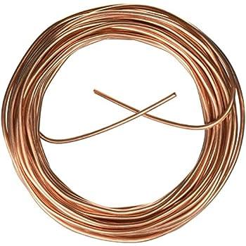 Cerrowire 050-2000B 50-Feet 8 Gauge Bare Solid Copper Wire ...