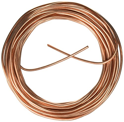Cerrowire 050-2000B 50-Feet 8 Gauge Bare Solid Copper Wire