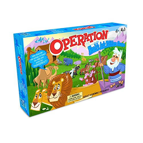 Operation: Noah's Ark Edition Board Game, (15 Piece)