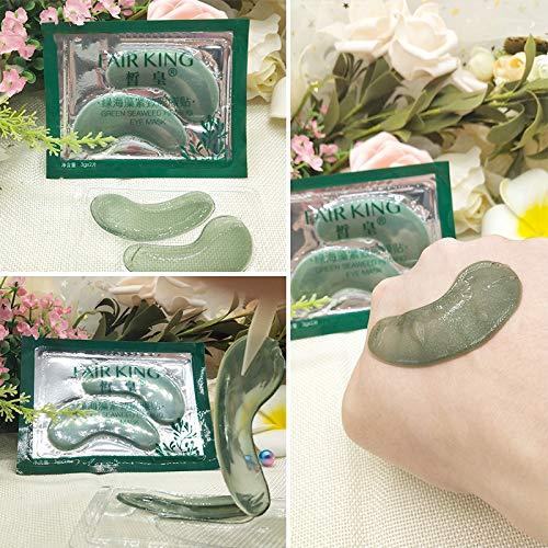 Yiitay Seaweed Eye Mask Patch Hydrating Remove Dark Circle Anti-Puffiness Firming Skin Gel Eye Mask Pack Of 5