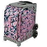 Zuca Sport Insert Bag - Pink FX (Pink/Blue/White pattern)