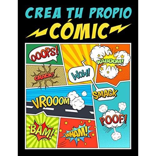 Crea tu propio cómic: 100 originales plantillas de cómics en blanco para adultos, adolescentes y niños Tapa blanda – 27 noviembre 2019 a buen precio