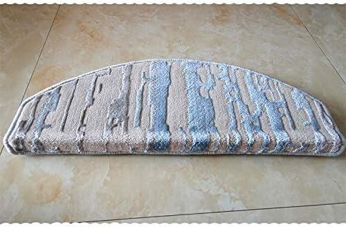 ZHAO YING Creativa Raya del Estilo Escalones Mats Espesar Antideslizante Escalera Mats, Seguridad Interior Exterior Escalera de alfombras Alfombras (Color : D, Size : 65 * 24 * 3 Contact Bottom): Amazon.es: Hogar