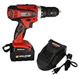Mosta Cordless Impact Drill Driver 18V Lithium-Ion-LT8018TB Labor Saving Nail Extractor Suitable for Multi Scene(One Battery)
