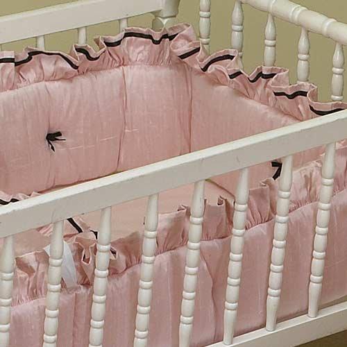 BabyDoll Prima Donna Cradle Bedding, Blue, 15'' x 33''