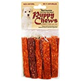 """Funchew Pp-010802 Assorted Flavors 5"""" Puppy Or Small Dog Munchie Strips Rawhide Chews (25 Pack), Small"""