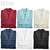 Best Bath Robe Soft Plush Microfiber, Lightweight Spa Bathrobe, By Clara Clark