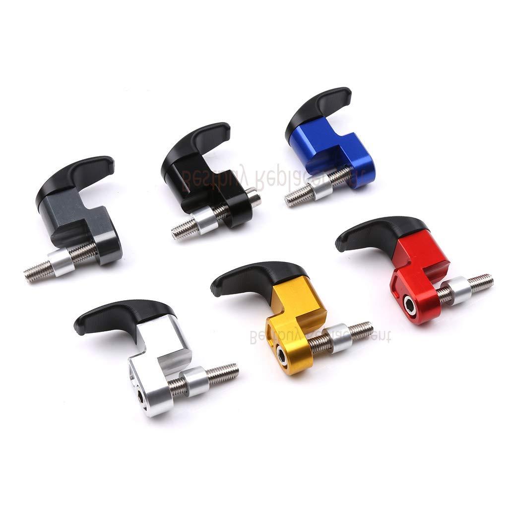 Black Easygo for PCX 125 PCX 150 PCX125 PCX150 Motorcycle Luggage Helmet Hanger 7//8 Inch Handlebar Hook