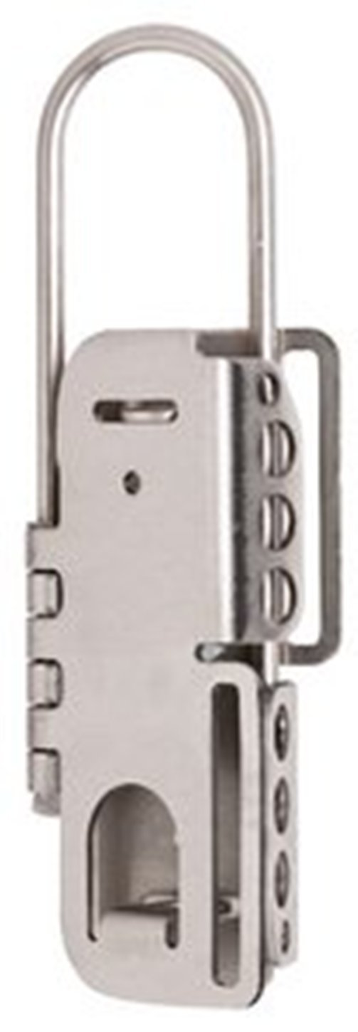 Master Lock 4mm Stainless Steel Lockout Hasp