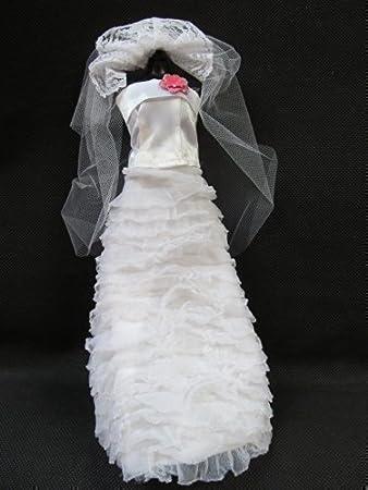 traditionell weiß 3 Teile mehrere Stufen hochzeit Barbie Sindy Puppe ...