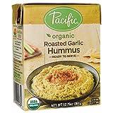 PACIFIC FOODS HUMMUS RSTD GARLIC, 12.75 OZ