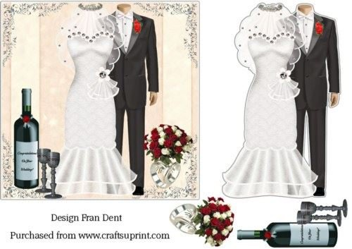 Wedding Tableaux by Frances Dent Craftsuprint