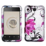 Pink Lotus Flower Design Snap-On Case Cover for ZTE Score X500