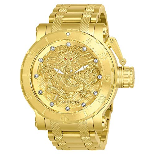 Invicta Men's 26511 Coalition Forces Automatic 3 Hand Gold Dial Watch ()