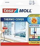 tesa Calfeutrer Film de survitrage thermo Cover transparent 1,70m x 1,50m