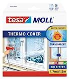 tesa UK Thermocover Insulating Film for Windows Transparent 1.7 m x 1.5 m (Max)