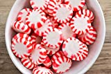 Brach's Star Brites Peppermint Starlight Mints Hard Candy, 5.63 Pound Bulk Candy Bag Individually Wrapped Bulk Holiday Candy