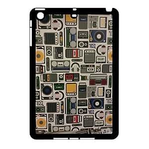 Custom Retro Old Player Tape Case Cover, Custom Protective Cover Case for iPad Mini Retro Old Player Tape