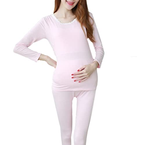 Laixing Autumn Maternity Fashion Loose Suits Top and Pants La mujer embarazada Women Clothes Sets