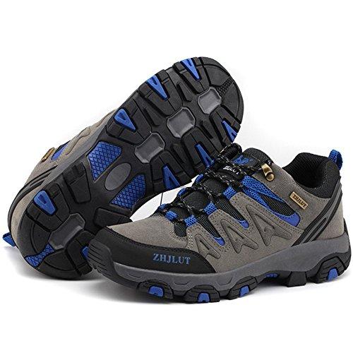 Roccia Taglia Da Uomo Grande Trekking Yra Su Sneakers Sportiva Scarpe Arrampicata All'aperto Passeggiate Scarpa Unisex Coppie Donna Gray Da Per Trekking Di 8pSPqcRSB