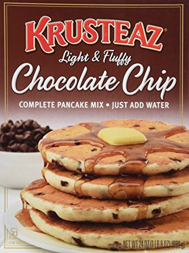 hip Pancake Mix, 24-Ounce Boxes (Pack of 2) (Chocolate Chip Pancake Mix)