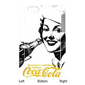 Personalized Creative Coca-Cola Golden Beauty Case iPhone 5 Case, Best Durable Coca Cola iPhone 5/5S Case Cover by Maris's Diary