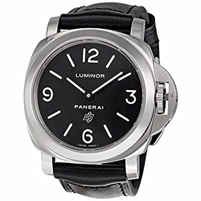 Panerai Luminor Base Logo Men's Hand Wound Watch - PAM00000