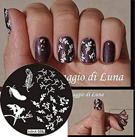 Buy Veena 2018 New Style Nail Art Stamp Stamping Plate Template