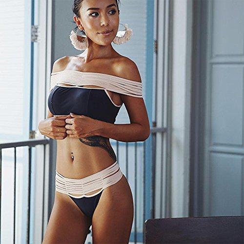 YUPE Hot spring Badeanzug stilvoller blauer bikini Badeanzug Frauen Hot Springs