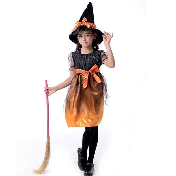 Amazon.co.jp: Royanney ハロウィン衣装 子供 女の子 魔女