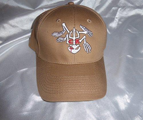 Rare American Sniper Chris Kyle Frog Hat Tan Khaki Adjustable