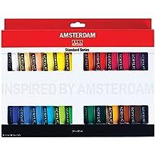 Amsterdam Royal Talens Acrylic Standard Tubes, 20ml-Tubes, Set of 24