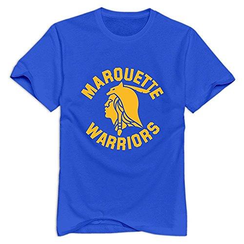 VAVD Men's Marquette Warriors Cotton T-Shirt