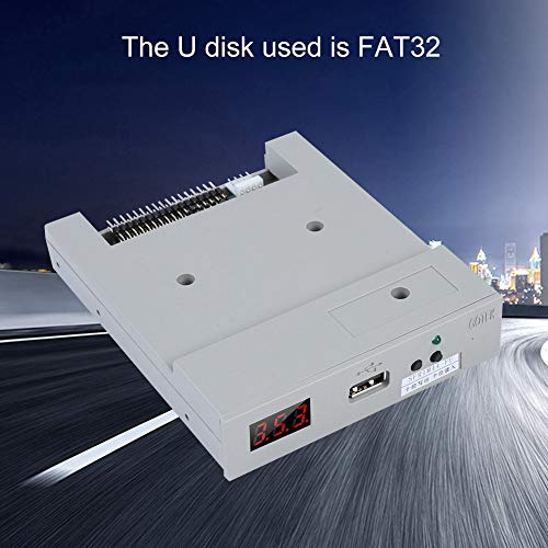 fosa Floppy & Tape Drives SFR1M44-FU USB Floppy Drive Emulator for Embroidery Machine Plug and Play Floppy to USB Converter with 3.5In 1.44MB 34-Pin Floppy Disk Driver Interface by fosa (Image #6)